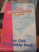1997 Fan Club Friendship Pack case