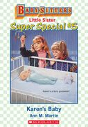 Baby-sitters Little Sister SS5 Karens Baby ebook cover