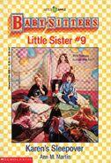 Baby-sitters Little Sister 9 Karens Sleepover cover