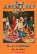 BSC 44 Dawn and the Big Sleepover ebook cover