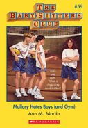 BSC 59 Mallory hates Boys and Gym ebook cover
