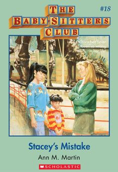 Baby-Sitters Club 18 Staceys Mistake cover