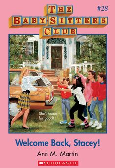 Baby-Sitters Club 28 Welcome back Stacey cover
