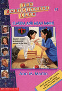 Baby-sitters Club 7 Claudia and Mean Janine reprint cover