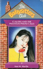 Baby-sitters Club 2 Claudia Phantom Phone Calls UK cover