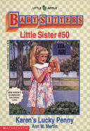 Baby-sitters Little Sister 50 Karens Lucky Penny front cover 1stprint