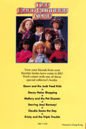 Mary Anne and the Lost Boy mini book back cover