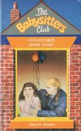 Baby-sitters Club 10 Logan Likes Mary Anne UK cover