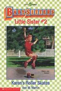 Baby-sitters Little Sister 02 Karens Roller Skates cover 44259 16thpr
