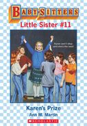 Baby-sitters Little Sister 11 Karens Prize ebook cover