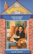 Baby-sitters Club 22 Jessi Ramsey Pet sitter UK cover