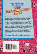 Baby-sitters Club 5 Dawn and the Impossible Three reprint back cover