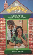 Babysitters Club 40 Claudia Middle School Mystery UK cover