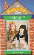 Baby-sitters Club 12 Claudia and the New Girl UK cover