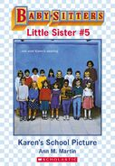 Baby-sitters Little Sister 5 Karens School Picture ebook cover