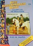 BSC - Mallory and the Dream Horse 1996 reprint cover