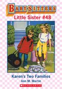 Baby-sitters Little Sister 48 Karens Two Families ebook cover
