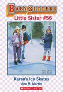 Baby-sitters Little Sister 56 Karens Ice Skates ebook cover