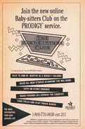 BSC online on Prodigy bookad from 64 orig 1993