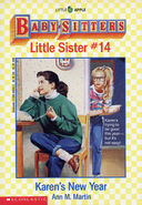 Baby-sitters Little Sister 14 Karens New Year cover