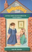 Baby-sitters Club 15 Little Miss Stoneybrook and Dawn UK cover