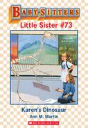Baby-sitters Little Sister 73 Karens Dinosaur ebook cover