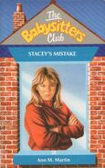 Baby-sitters Club 18 Staceys Mistake UK cover
