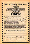 Win a BSC video giveaway bookad from 43 orig 1stpr 1991