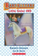 Baby-sitters Little Sister 89 Karens Unicorn ebook cover