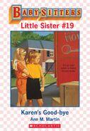Baby-sitters Little Sister 19 Karens Good-bye ebook cover