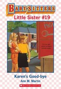 Baby-sitters Little Sister 19 Karens Good-bye ebook cover
