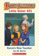 Baby-sitters Little Sister 21 Karens New Teacher ebook cover