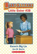 Baby-sitters Little Sister 38 Karens Big Lie ebook cover