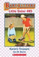 Baby-sitters Little Sister 85 Karens Treasure ebook cover