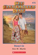 BSC 76 Stacey's Lie ebook cover