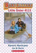 Baby-sitters Little Sister 113 Karens Hurricane ebook cover