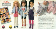 Kenner 18 inch dolls poster from 1994 JCPenney Christmas Catalog P498
