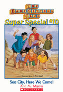 Super Special 10 Sea City Here We Come cover stock image