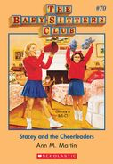 BSC 70 Stacey and Cheerleaders ebook cover