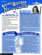 BSCC Collectors Club newsletter Vol 1 No 1 front