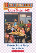 Baby-sitters Little Sister 42 Karens Pizza Party ebook cover