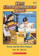 BSC 89 Kristy and Dirty Diapers ebook cover