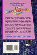 Baby-sitters Club 7 Claudia and Mean Janine reprint back cover