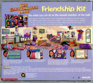 Baby-sitters Club Friendship Kit CD case back