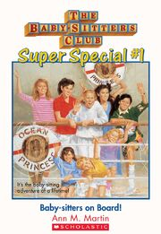 Super Special 1 Baby-sitters on board cover stock image
