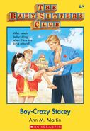 Baby-sitters Club 8 Boy-Crazy Stacey cover stock image