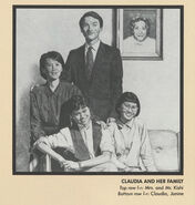 Claudia Family Portrait from 1991 Calendar