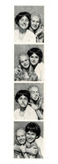 Mary Anne Dawn photo strip from chain letter