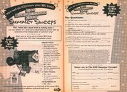 Summer Sweeps bookad from BSC 100 1stpr 1996