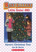 Baby-sitters Little Sister 80 Karens Christmas Tree ebook cover